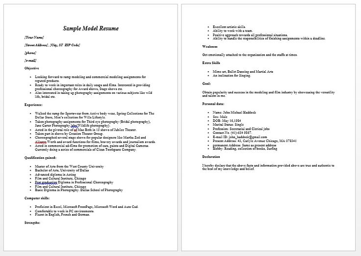 Modeling Resume Sample Free - Modeling Resume Sample Freewe provide as reference to make correct and good quality Resume. Alsowill give ideas and strategiesto develop your own resume. Do you needa strategic resume toget your next leadership role or even a more challenging position?There are so many kinds of Free Resume ... - http://allresumetemplates.net/1122/modeling-resume-sample-free/