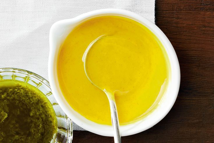 Creamy Tahini & Turmeric Dressing—Drizzle over ourSquash, Quinoa & Pomegranate Salad or Brussels Sprouts, Rice & Halloumi Salad.