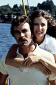 Tom Selleck, Mimi Rogers Die Affaere mit der Studentin Belinda (Mimi Rogers) ist fuer Jack (Tom Selleck) nur ein - Stock Photo