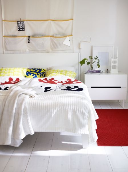 Always something new at IKEA! ÄNGSSPIRA duvet cover and pillow cases.