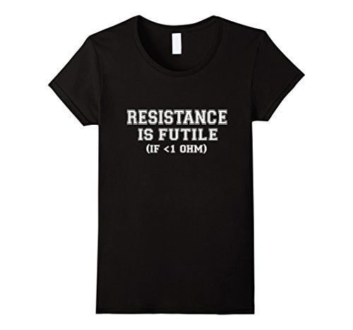 Bringing exclusively for you: Resistance is Fut...  Get it before the supplies run out  http://www.magnetabrand.com/products/resistance-is-futile-funny-electrician-t-shirt-mens-100-cotton-o-neck-short-sleeve?utm_campaign=social_autopilot&utm_source=pin&utm_medium=pin