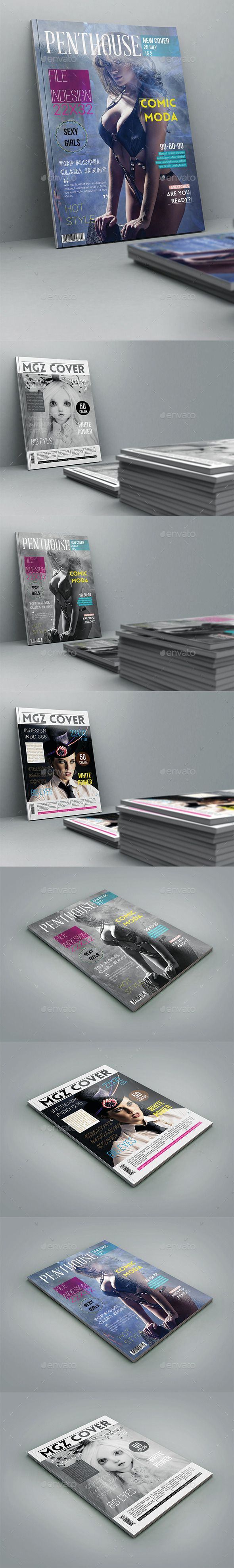 Magazine Cover Template #design Download: http://graphicriver.net/item/mgz-cover-template/12279220?ref=ksioks