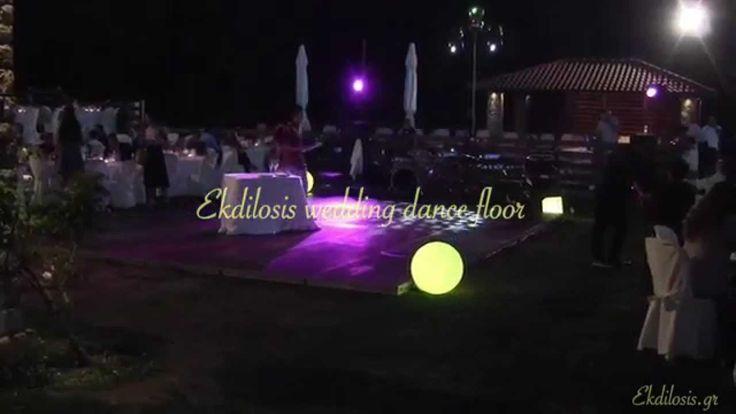 Mε κάθε χρήση της πίστας χορού η EKDILOSIS event production ταυτόχρονα σας προτείνει μοναδικές προτάσεις σχεδιασμένες ειδικά για γαμήλιας εκδήλωσης,κάνοντας έτσι ένα ακόμη βήμα πρός την επίτευξη του στόχου σας.Μια από αυτές είναι και ο σωστός φωτισμός της εκδήλωσης ,ο σωστός φωτισμός της πίστας χορού προσφέροντας τέλεια χρώματα και ένα πλήθος επιλογών από φωτιστικά σενάρια ώστε να να διαμορφωθεί ένα περιβάλλον κατάλληλο στις μουσικές επιλογές.  Ο φωτισμός της πίστας χορού είναι το απαραίτητο…