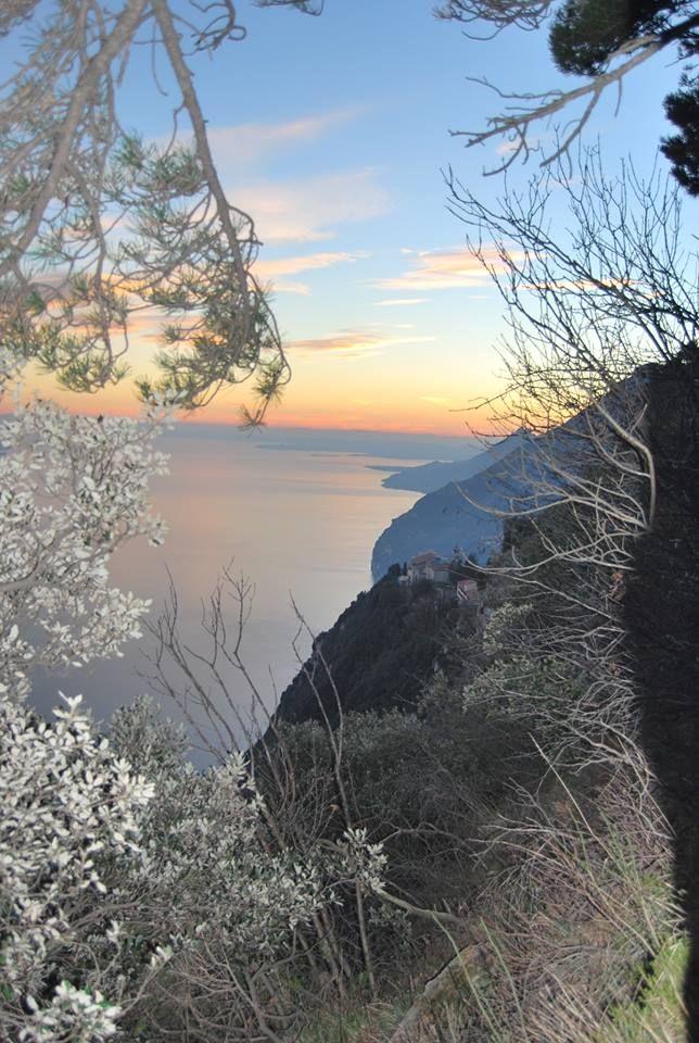 Vista lago di Garda da Tignale