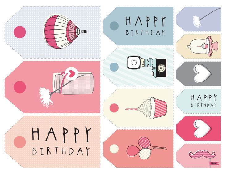 8 Sets Of Free Printable Gift Tags In Different Styles Gift Tags Printable Birthday Gift Tags Printable Free Printable Gift Tags