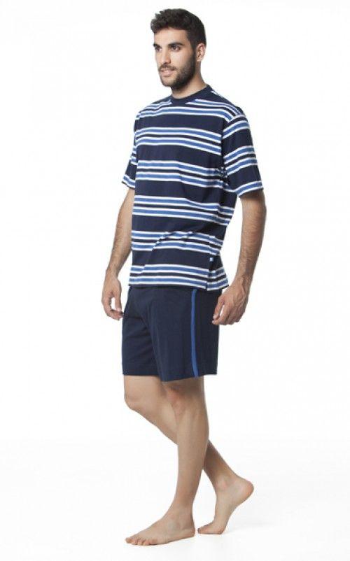 Pijama hombre verano Punto Blanco modelo Observeeriaelajuar.com/homewear/pijamas-hombre-verano/05487260/pijama-verano-hombre-punto-blanco-modelo-observe.html