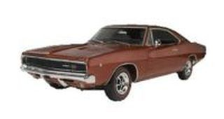 REVELL-MONOGRAM 1968 DODGE CHARGER 2 IN 1 1/25 SCALE PAINT AND GLUE PLASTIC MODEL KIT
