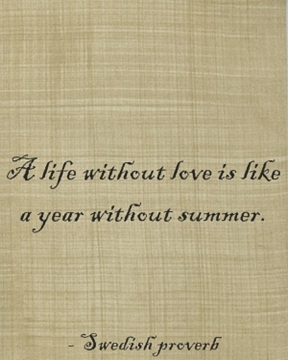 like a year without summer.