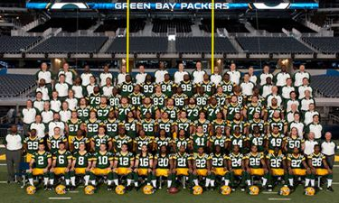 Green Bay Packers Championship Team Photo Super Bowl 45