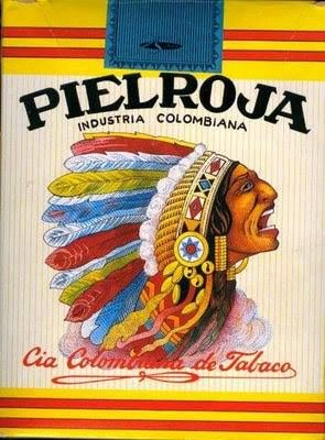 Cajetilla de cigarrillos Pielroja 1925