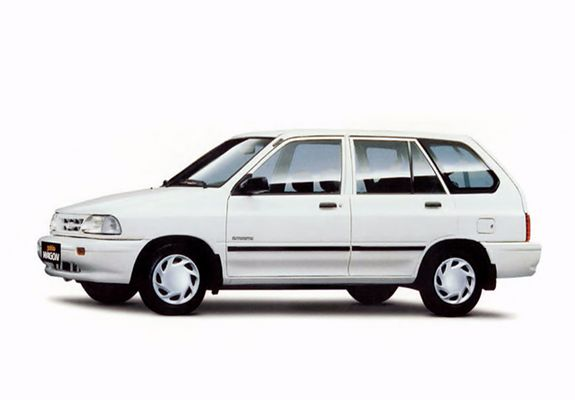 Time for #ThrowbackThursday with a 1987 #Kia Pride. #TBT