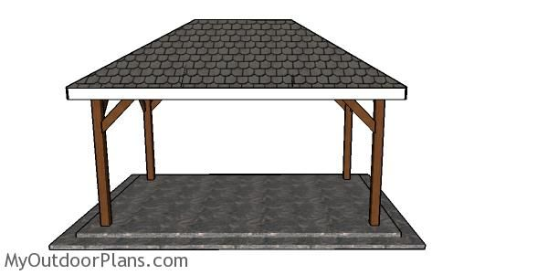 Simple 10x16 Rectangular Gazebo Plans Myoutdoorplans Free Woodworking Plans And Projects Diy Shed Wooden Playhouse Rectangular Gazebo Gazebo Plans Gazebo