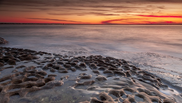 Sun gone for the day at La Perouse by Keith McInnes Photography, via Flickr