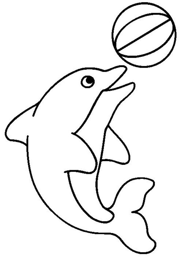 Animales para niños de primaria Clic para imprimir: Delfin para ...