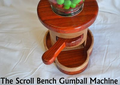 Gumball Machine Pattern from The Scroll Bench