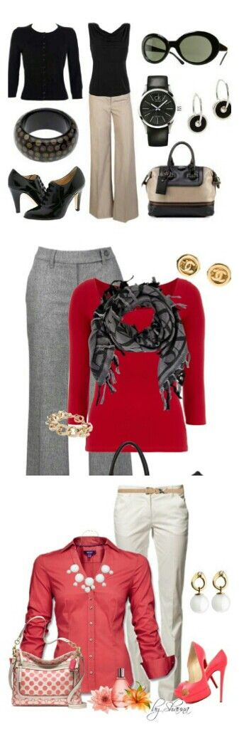 Great colors and outfits for work pin from http://www.besttreadmillbrands.net/WOMENS-BAGS.html