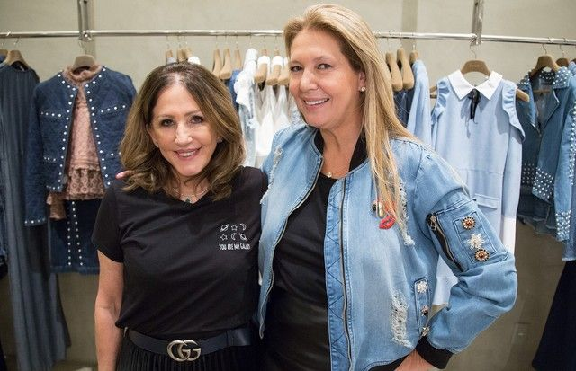 Donata Meirelles visita a loja da Iorane na edição do Quero Já desta quarta-feira (Foto: Pablo Escajedo)