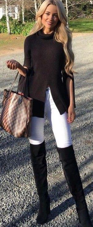 Black and White + LV Bag                                                                             Source