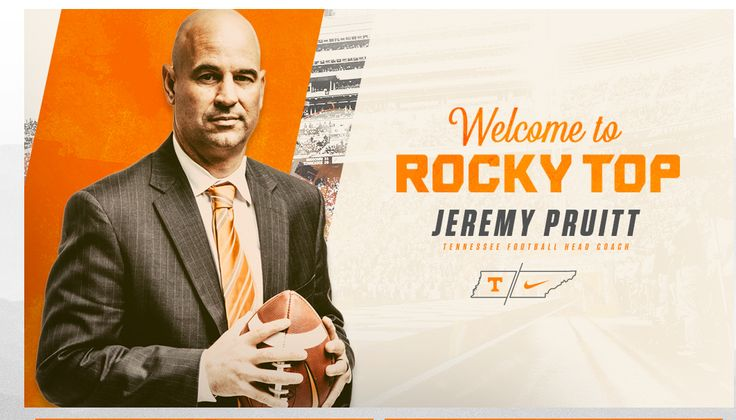 New Tennessee Volunteers Football Coach Jeremy Pruitt