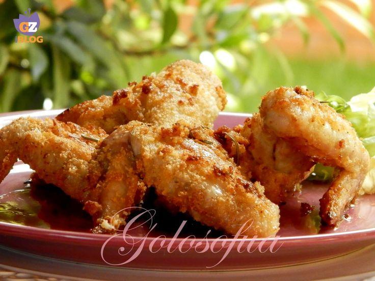 Ali di pollo impanate-ricetta secondi di carne-golosofia