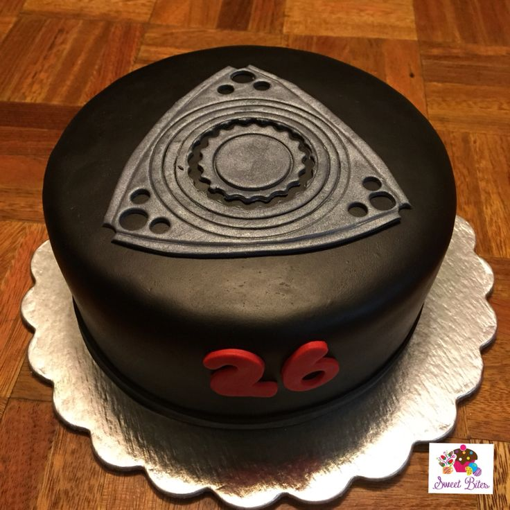 Best Car Items Images On Pinterest Rx Mazda And Rotary - Car engine birthday cake