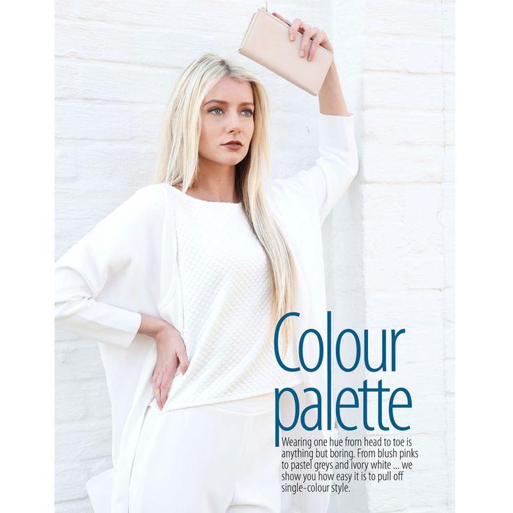 Gorgeous #white #Nicci top in the #GetIt magazine