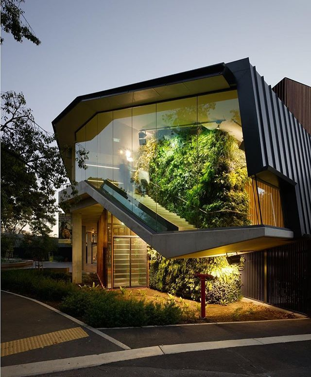 In love with this Giant #green wall and staircase  / Adelaide #Zoo Enstrance in #Australia designed by Hassel Architects. Tag an #Architecture Lover!! #d_signers --- #design #designer #instahome #instadesign #architect #beautiful #home #homedesign #art #architecture #interiordesign #exterior #interior #luxury #lighting #decoration #decor #follow insta