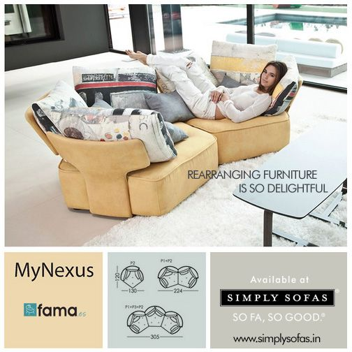 Famau0027s MyNexus Is So Versatile That It Can Be Changed Into Two Individual  Chairs Or A