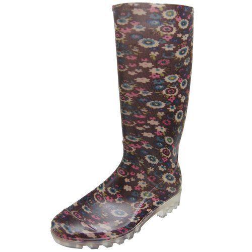 Adi Designs Womens Floral Print Rain Boots Adi Designs. Save 49 Off!. $35.99
