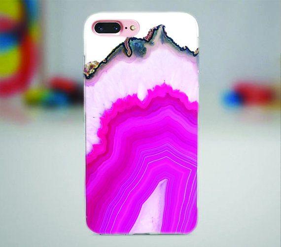 Pink raw stone iPhone case.  #rawstone #stone #raw #iphone #iphonecase #iphone7 #iphone7plus #iphonex #pink #apple