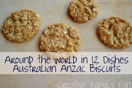 Creative Family Fun: Around the World in 12 Dishes: Australia