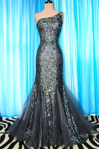 JOVANI 2012 DAZZLING EVENING PAGEANT PROM FORMAL BALL GALA GOWN DRESS size 2