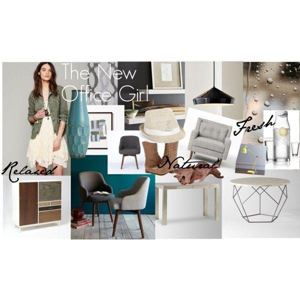 """""""The New Office Girl"""" by antoinetteplummer"""