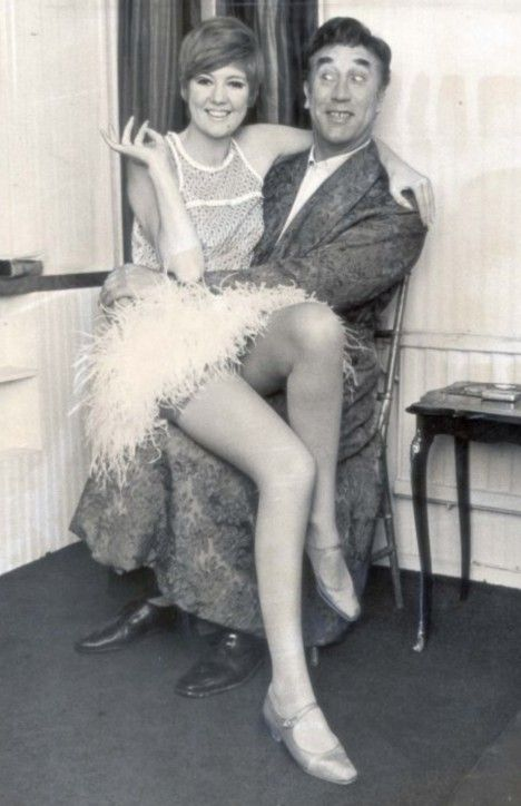 #Sixties | Cilla Black and Frankie Howerd