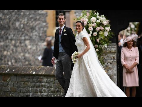 Pippa Middleton and James Matthews wedding at St Mark's Church