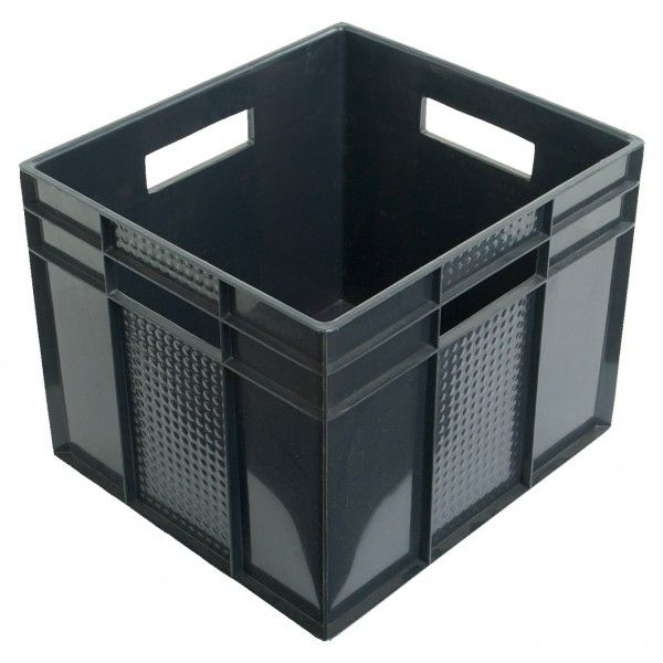 This sturdy plastic stackable cube is ideal for sorting and storing items in the office, laundry, garage or garden shed. �Colour choices available are Black, Blue, Geen, Red, Tint Blue, Tint Clear, Tint Green, Tint Pink or Tint Purple.32 D x 35 W x 29 H cm�This product is only available to pick up in store when ordered online.