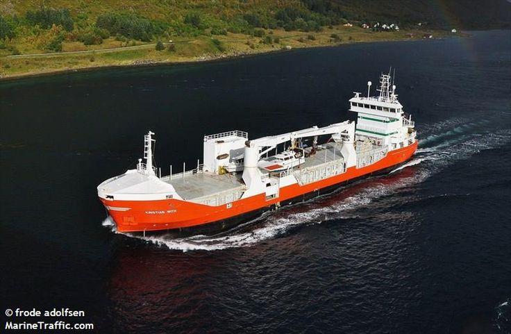 KRISTIAN WITH (MMSI: 259983000) Ship Photos | AIS Marine Traffic