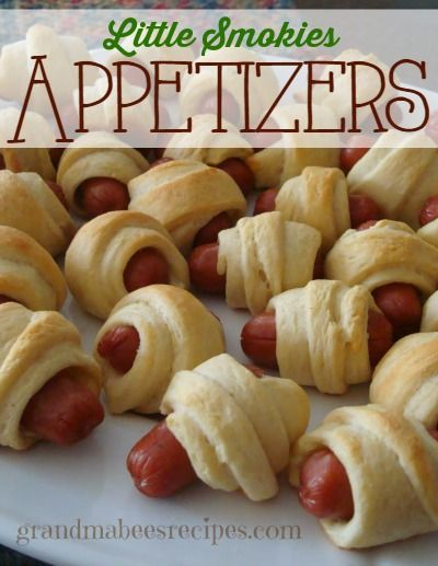 Football snacking season is here! The guys love these Little Smokies Appetizers!