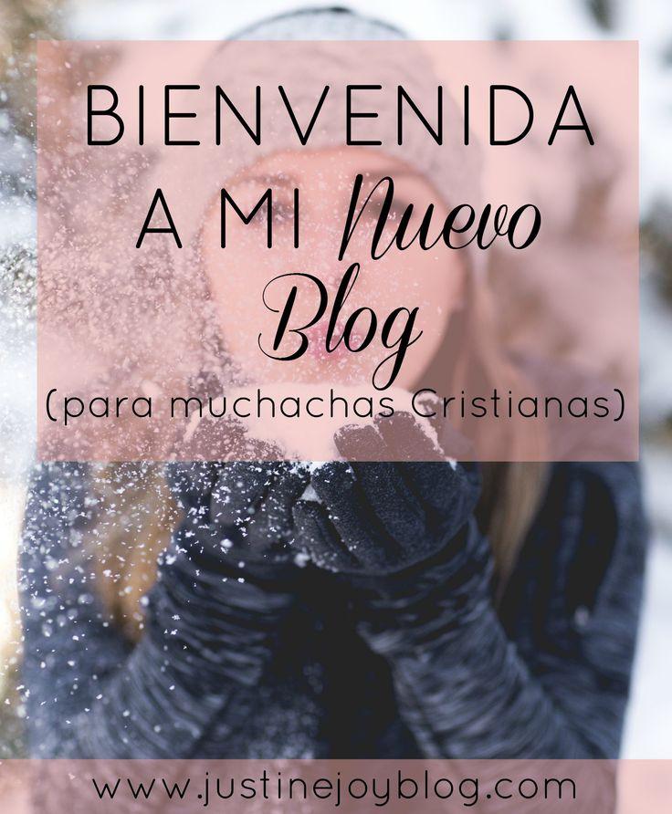 Bienvenida a mi nuevo blog para muchachas Cristianas!