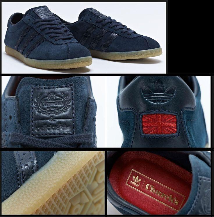 Church's x adidas Consortium London: Navy/Gum
