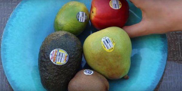 Etichette alimentari: come leggere i codici su frutta e verdura