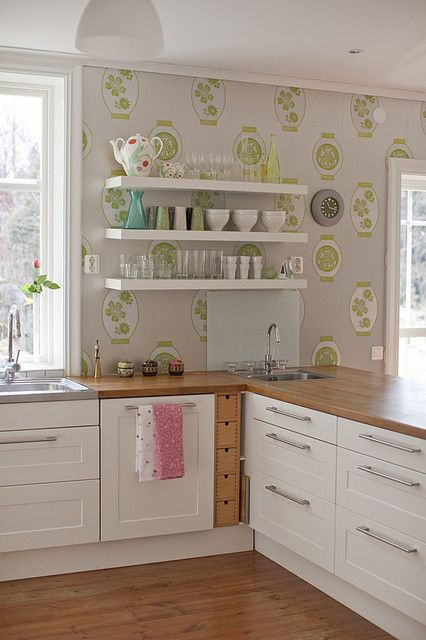eclectic kitchen wallpaper pictures