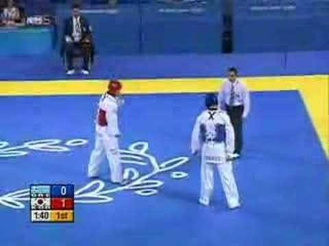 2004 Athens Olympic - Taekwondo Gold Medal Match
