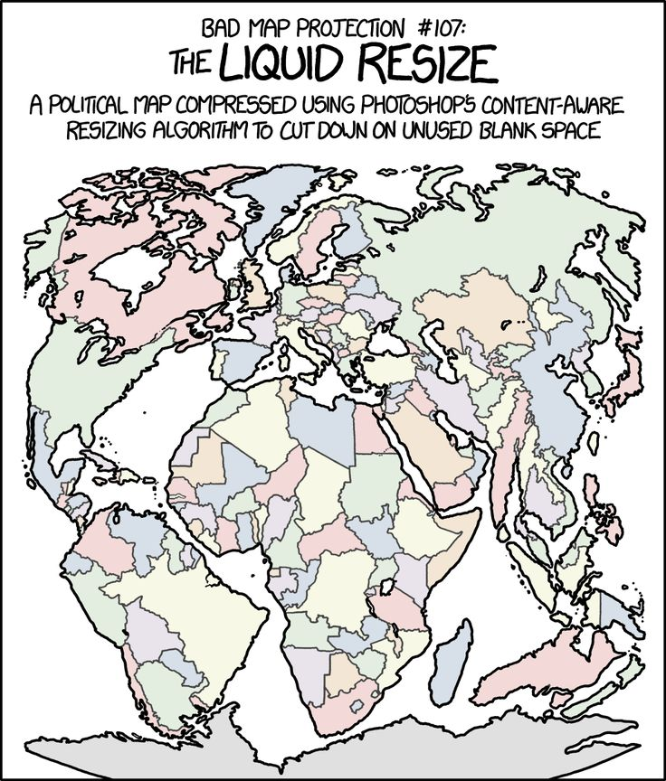 103 best maps images on pinterest maps cards and cartography bad map projection liquid resize by xkcd gumiabroncs Image collections