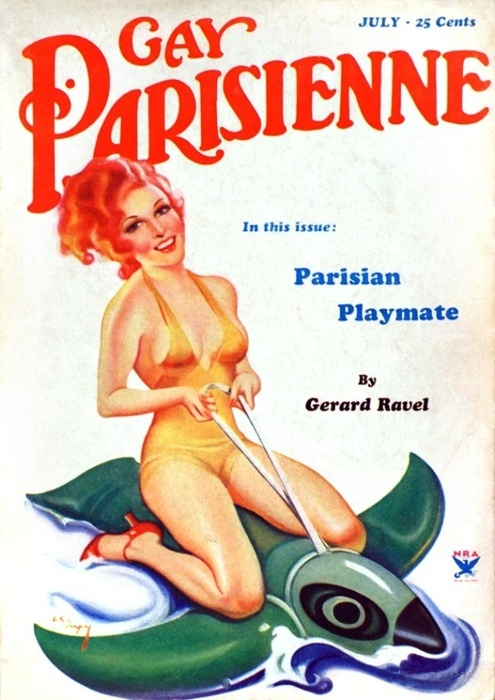 gay parisienne magazine covers