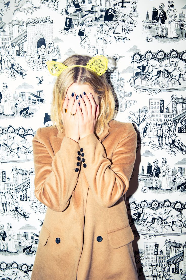 """[My favorite emoji is] probably the poop one. I use it a lot."" http://www.thecoveteur.com/ashley-benson/"