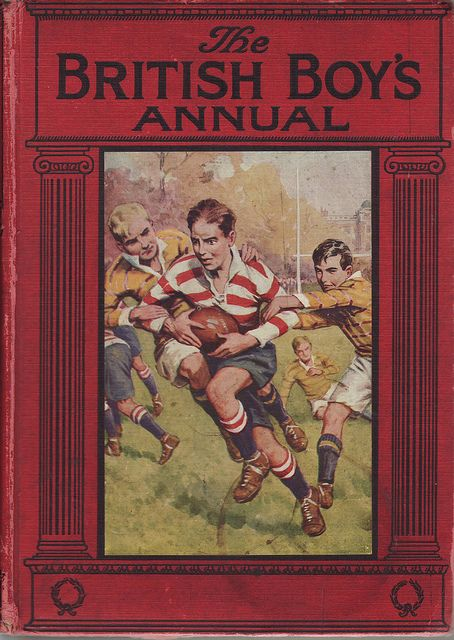British Boy's Annuals 1931 by Frederic Humbert #Vintage Books covers #books  www.newpublishehouse.com