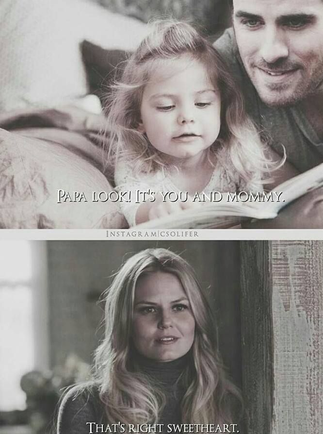 captain swan This is really cute! But I feel like instead of 'sweetheart', Emma would say 'kid'.