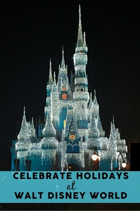 There is no more magical place to celebrate Christmas and the winter holidays than at Disney World! See Cinderella Castle covered in lights, enjoy exclusive entertainment including the Once Upon a Christmastime Parade, and celebrate customs and holidays around the world at Epcot. All four parks (as well as Disney Springs and the Resort Hotels!) all get in on the holiday magic. #Disney #DIsneyHolidays #TMOM #TMOMDisney