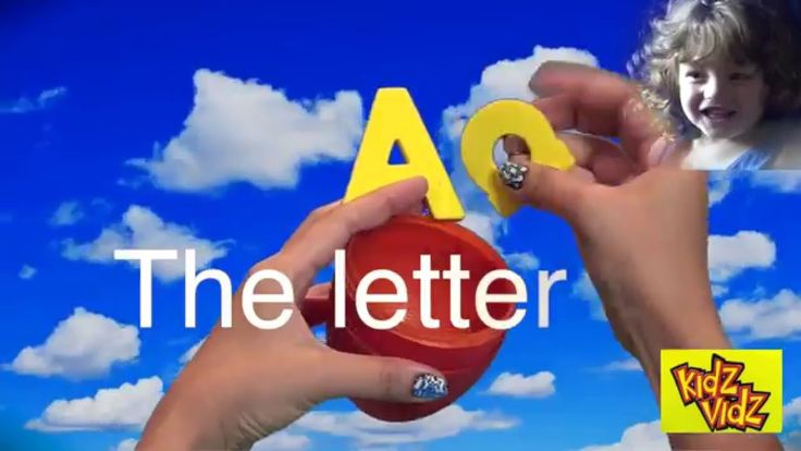 Learning the ABC's The Letter A. Great parenting for pre-schoolers